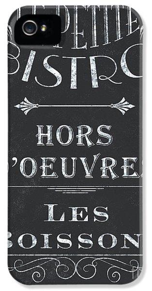 Le Petite Bistro 1 IPhone 5s Case by Debbie DeWitt