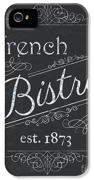 Le Petite Bistro 4 IPhone 5s Case by Debbie DeWitt
