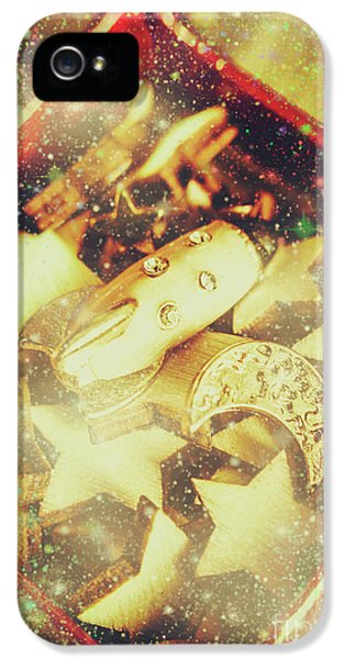 Magician iPhone 5s Case - Learning The Magic Of Stars And Space by Jorgo Photography - Wall Art Gallery