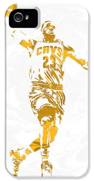 Lebron James Cleveland Cavaliers Pixel Art 12 IPhone 5s Case