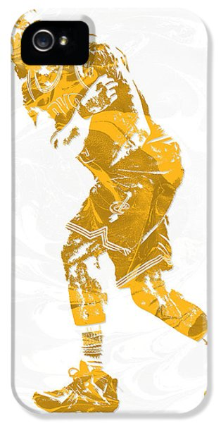 Lebron James Cleveland Cavaliers Pixel Art 13 IPhone 5s Case