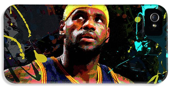 Lebron IPhone 5s Case by Richard Day