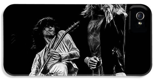 Led Zeppelin Robert Plant Jimmy Page Collection IPhone 5s Case
