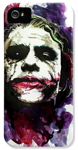 Ledgerjoker IPhone 5s Case by Ken Meyer jr