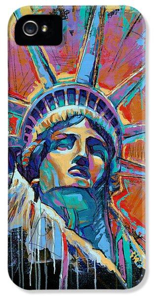 Liberty In Color IPhone 5s Case by Damon Gray