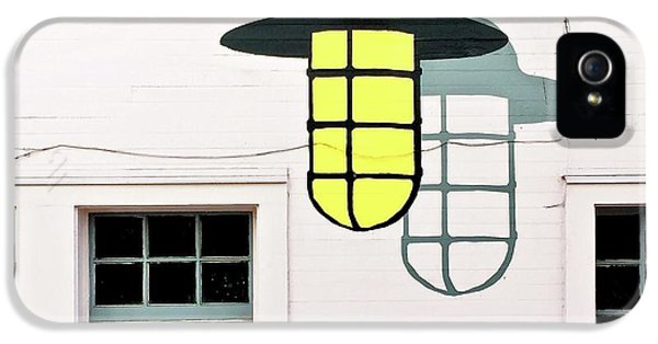 iPhone 5s Case - Light Bulb Mural by Julie Gebhardt
