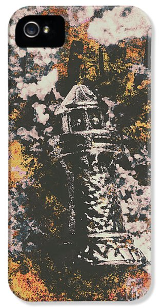 Etching iPhone 5s Case - Lighthouse From Rust Harbour by Jorgo Photography - Wall Art Gallery