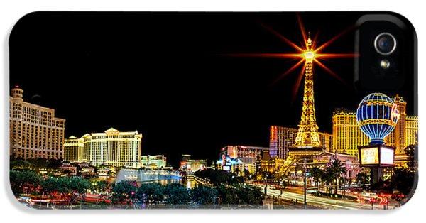 Lighting Up Vegas IPhone 5s Case by Az Jackson