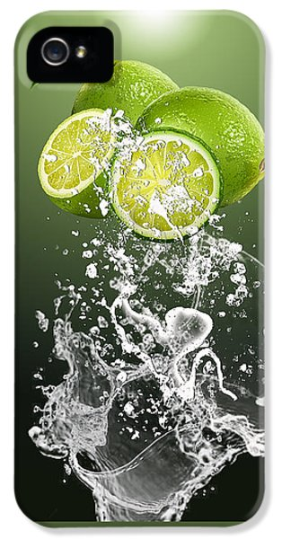 Lime Splash IPhone 5s Case