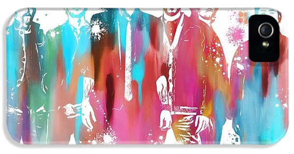 Linkin Park Watercolor Paint Splatter IPhone 5s Case by Dan Sproul