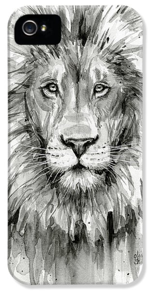 Lion Watercolor  IPhone 5s Case