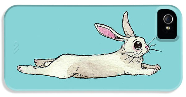 Little Bunny Rabbit IPhone 5s Case by Katrina Davis
