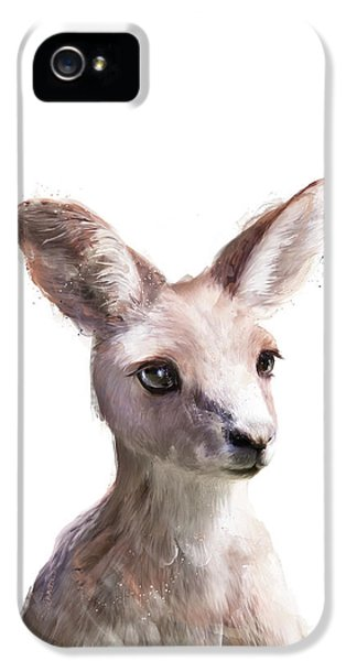 Portraits iPhone 5s Case - Little Kangaroo by Amy Hamilton