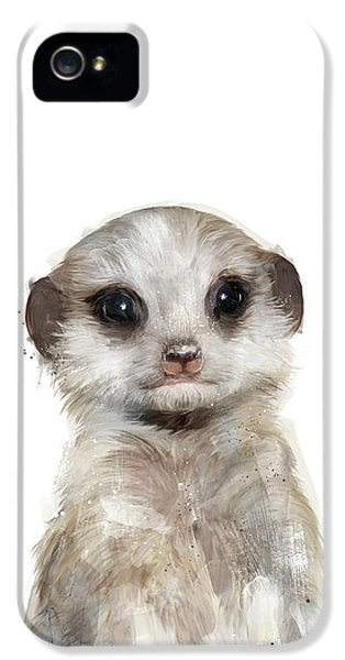 Little Meerkat IPhone 5s Case by Amy Hamilton