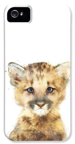 Little Mountain Lion IPhone 5s Case by Amy Hamilton