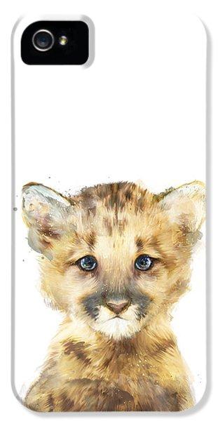 Mountain iPhone 5s Case - Little Mountain Lion by Amy Hamilton