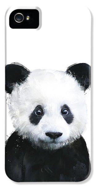 Portraits iPhone 5s Case - Little Panda by Amy Hamilton