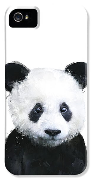 Portraits iPhone 5s Case - Little Panda by Amy Hamilton