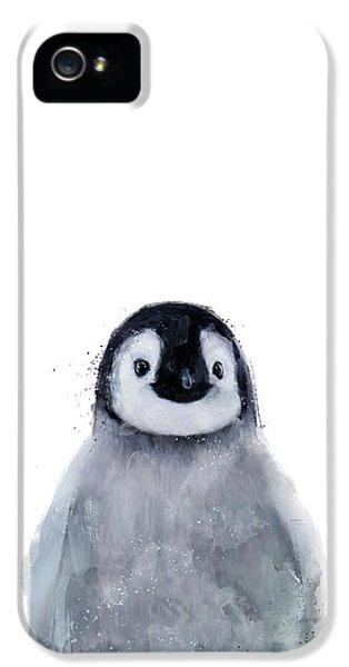 Penguin iPhone 5s Case - Little Penguin by Amy Hamilton