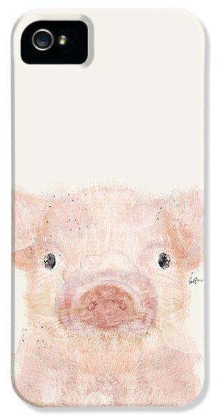 Little Pig IPhone 5s Case by Bri B