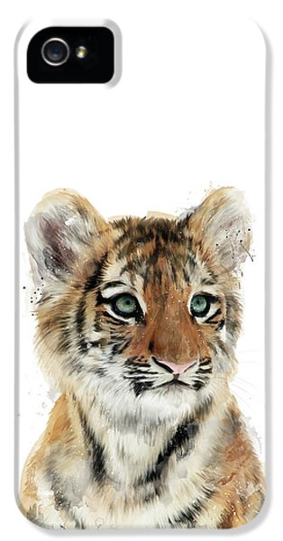 Little Tiger IPhone 5s Case by Amy Hamilton