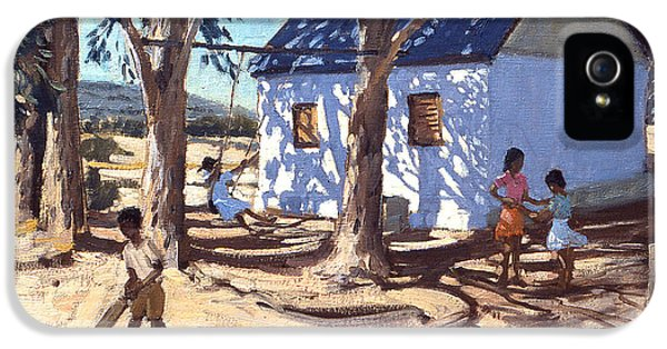 Cricket iPhone 5s Case - Little White House Karoo South Africa by Andrew Macara