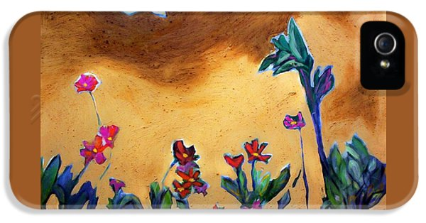 IPhone 5s Case featuring the painting Living Earth by Winsome Gunning