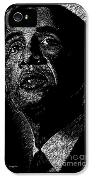 Living The Dream IPhone 5s Case by Maria Arango