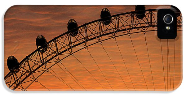 London Eye Sunset IPhone 5s Case