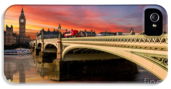 London Sunset IPhone 5s Case by Adrian Evans