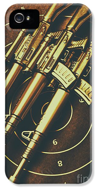Armed iPhone 5s Case - Long Range Tactical Rifles by Jorgo Photography - Wall Art Gallery