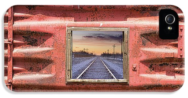 IPhone 5s Case featuring the photograph Looking Back by James BO Insogna