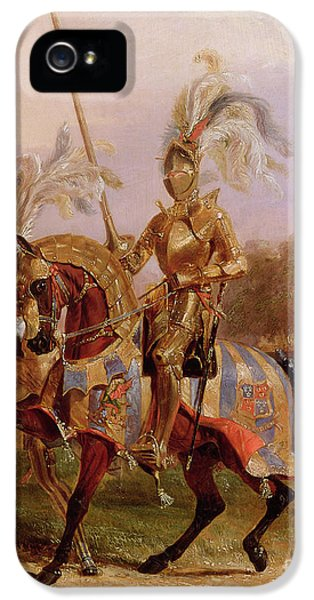 Lord Of The Tournament IPhone 5s Case by Edward Henry Corbould