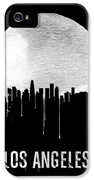 Los Angeles Skyline Black IPhone 5s Case by Naxart Studio