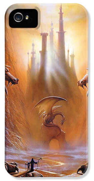 Dragon iPhone 5s Case - Lost Valley by The Dragon Chronicles - Garry Wa