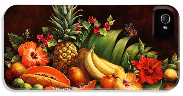 Mango iPhone 5s Case - Lots Of Fruit by Laurie Hein