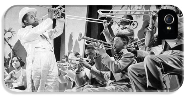 Trombone iPhone 5s Case - Louis Armstrong by American School