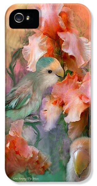 Love Among The Irises IPhone 5s Case by Carol Cavalaris