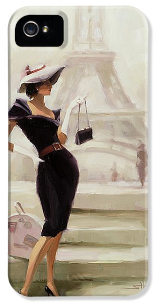Figurative iPhone 5s Case - Love, From Paris by Steve Henderson