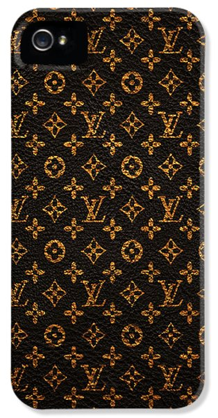 Doctor iPhone 5s Case - Lv Pattern by Janis Marika