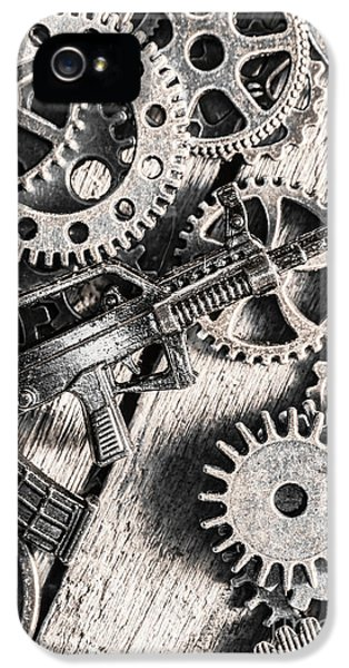 Machines Of Military Precision  IPhone 5s Case by Jorgo Photography - Wall Art Gallery