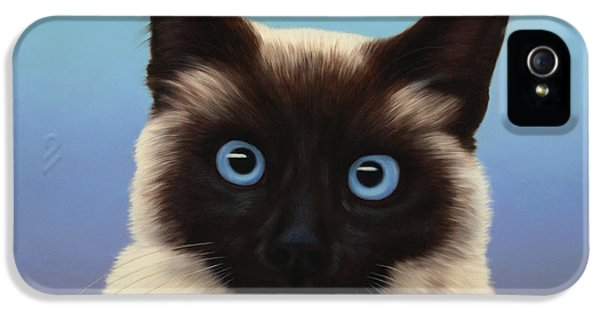 Cat iPhone 5s Case - Machka 2001 by James W Johnson