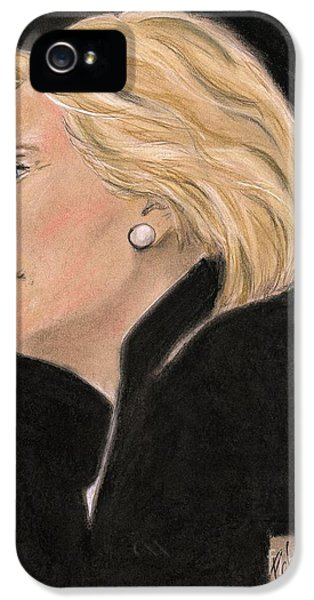 Madame President IPhone 5s Case by P J Lewis