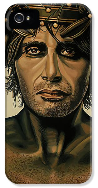 Doctor iPhone 5s Case - Mads Mikkelsen Painting by Paul Meijering