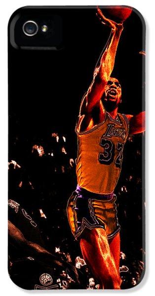 Magic Johnson Lean Back II IPhone 5s Case