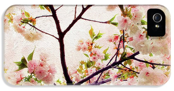 IPhone 5s Case featuring the photograph Asian Cherry Blossoms by Jessica Jenney