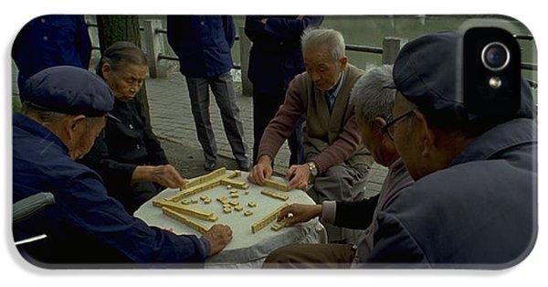 Mahjong In Guangzhou IPhone 5s Case