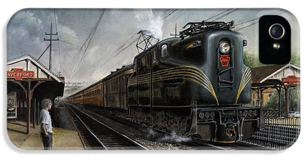 Train iPhone 5s Case - Mainline Memories by David Mittner