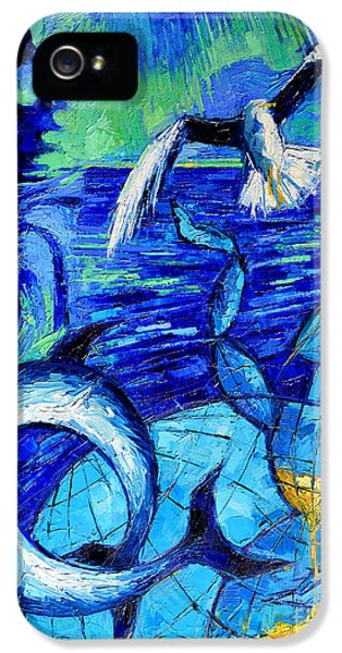 Majestic Bleu IPhone 5s Case by Mona Edulesco