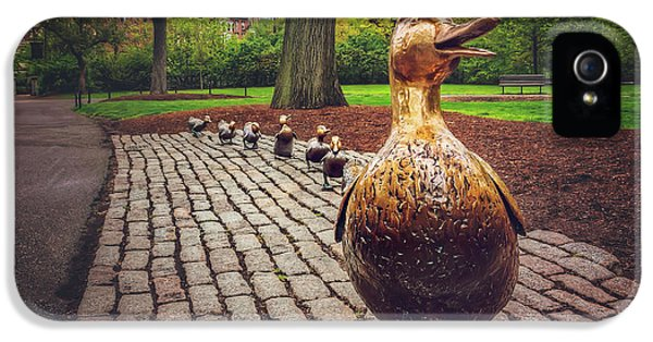 Make Way For Ducklings In Boston  IPhone 5s Case